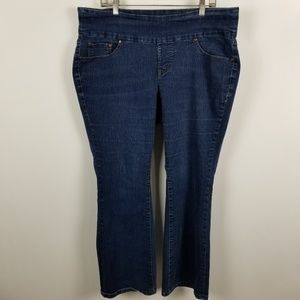 Jag Jeans Pull On High Rise Boot Leg 16 WP 16WP